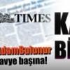 The Times'daki ilana karşı bildiri!