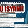 Bir Müslüman kadın yazarın Fethullah Gülen'e onurlu isyanı!