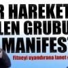 Ve Nur Hareketinden Gülen grubuna manifesto!
