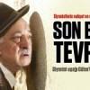 Siyonist uşağı Gülen'in son bedduası Tevrat'tan