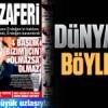 Dünya böyle gördü; Erdoğan'ın zaferi