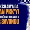 Cami yakarak İslam'a da savaş açan PKK'yı sözde Müslüman Gülenciler savundu!