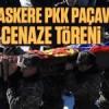 Ermeni askere PKK paçavrasıyla cenaze töreni