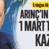 Arınç'ın Türkiye'ye 1 Mart tezkeresi kazığı!