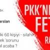 Cizre operasyonu PKK'nın ortağı FETÖ'yü çok rahatsız etti