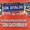 """Vatan hainleri Erdoğan'ın gurur veren dik duruşunu """"kirli pazarlık"""" gibi gösterdiler"""