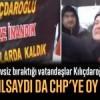 CHP'li belediyenin evsiz bıraktığı vatandaşlar Kılıçdaroğlu'nu protesto etti