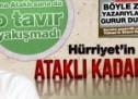 Hürriyet'in zırcahili Ataklı kadar olamadı!