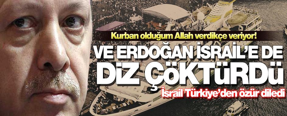 erdogan-israil