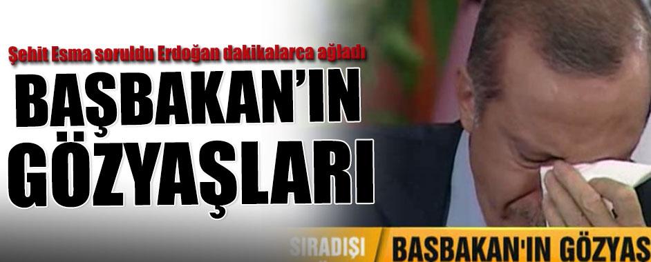 Şehit Esma Başbakan'ı canlı yayında hüngür hüngür ağlattı