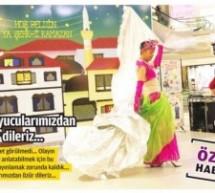 Ramazan ayında bir AVM'de erkek dansöz rezaleti