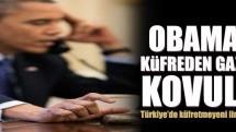 Obama'ya küfreden gazeteci kovuldu!