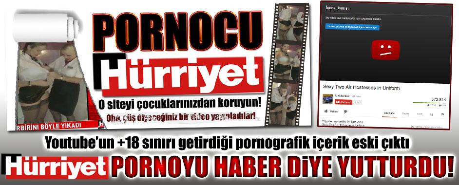 """Hürriyet'in """"porno yayıncılık"""" skandalında şok detaylar!"""