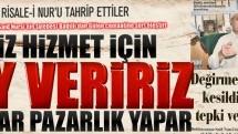 Bediüzzaman Said Nursi'nin talebesinden Gülen cemaatine sert eleştiriler