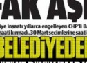 CHP'li belediyeden Gülen örgütüne büyük imar kıyağı!