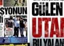 Gülen medyası utanmadı bu yalan manşeti attı