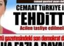 Gülen örgütü gazetesindeki son demokrat da ayrıldı!
