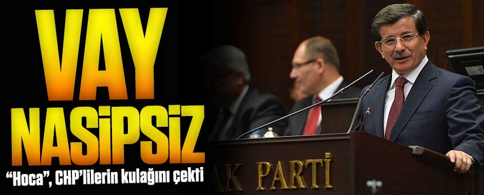 """Hoca"", CHP'lilerin kulağını çekti!"