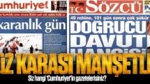 Yüz karası manşetler!