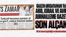 Gülen örgütünün o gazetesi bu kez bakın neyi jurnalledi?