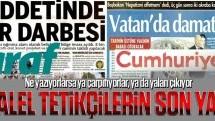 Paralel tetikçi gazetelerin son yalanı!