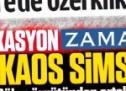 Gülen örgütünün gazetesi Zaman'dan yine provokasyon!