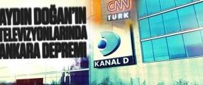 Aydın Doğan'ın televizyonlarında Ankara depremi!