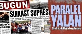 Diyarbakır Valiliği açıkladı; o manşet paralel bir yalan!