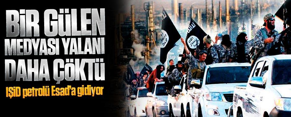 Bir Gülen medyası yalanı daha çöktü; IŞİD petrolü Esad'a gidiyor