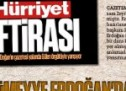 Hürriyet Sümeyye Erdoğan'dan özür diledi