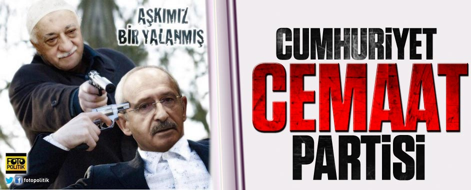 "O CHP'li durumu özetledi; CHP ""Cumhuriyet Cemaat Partisi"" oldu!"