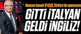 Neocon kanalı Fox TV'de operasyon!