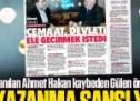Adı paralel tetikçilikle anılan Ahmet Hakan kaybeden Gülen örgütüne Gülerce ile vurdu!