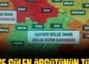 İşte bölge bölge Gülen örgütünün Türkiye haritası