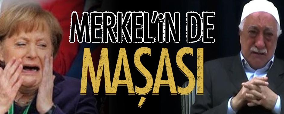 Gülen Merkel'in de maşası çıktı!