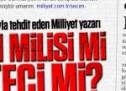 Türkiye'yi seçim barajıyla tehdit eden Milliyet yazarına büyük tepki!
