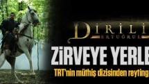 TRT'nin müthiş dizisi Diriliş ilk bölümüyle reyting zirvesine yerleşti