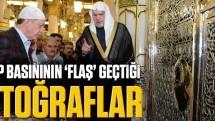 """Arap basınının """"flaş"""" geçtiği Erdoğan fotoğrafları"""
