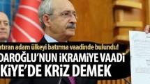 Kılıçdaroğlu'nun ikramiye vaadinden Türkiye'yi batırma projesi çıktı!