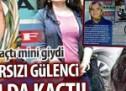 KPSS hırsızı Gülenci kadın da kaçtı!