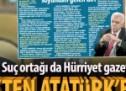 Perinçek'ten Hürriyet işbirliğiyle Atatürk'e hakaret!