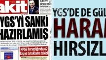 YGS'de de Gülenci harami hırsızlığı!