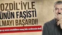 """Yılmaz Özdil'den yine bir """"faşist"""" çıkış!"""
