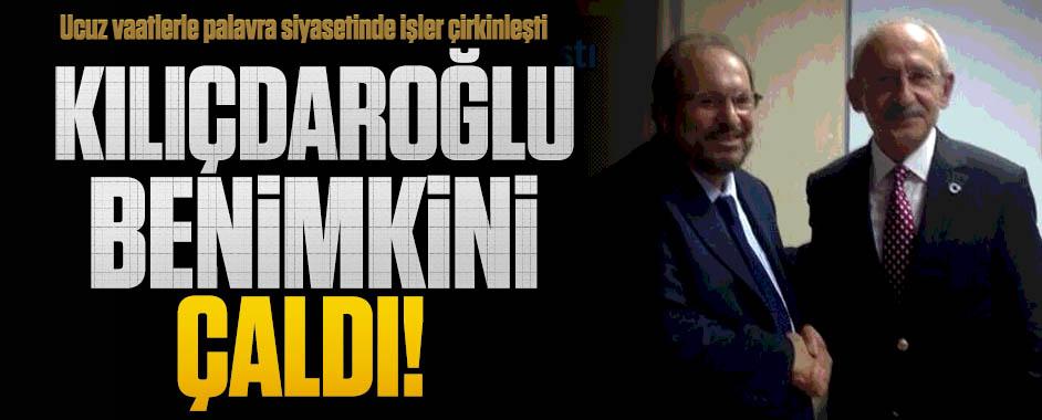 Haydar Baş: Kılıçdaroğlu benimkini çaldı!