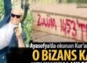 O Bizans kafası Özkök'ün köşesinde!