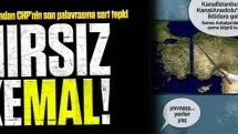 Davutoğlu'ndan CHP'nin son palavrasına sert tepki