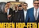 """""""Sır"""" görüşmeden HDP-FETÖ nikahı çıktı!"""