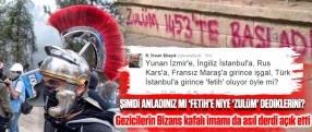 Gezicilerin Bizans kafalı imamı da sahneye çıktı!