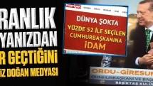 Erdoğan: Sizin karanlık dünyanızdan neler geçtiğini iyi biliriz Doğan medyası