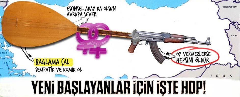 Yeni başlayanlar için işte HDP'nin gerçek yüzü!